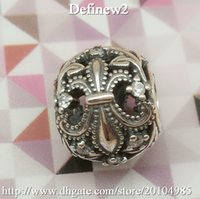 animal offers - 2015 Special Offer Promotion Slides Sliders Silver Fleur De Lis Openwork Charm Flower Beads Solid Charms Fit Bradflet Loose Df359