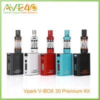 Cheap Vapor box Mod Best Vpark v-box 30w