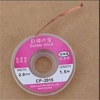 Wholesale TS Designer New M mm New Useful Desoldering Braid Solder Remover Wick CP ST