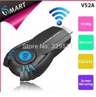 Cheap Hotsale ! 10pcs lot VSMART V5ii EZCast miracast Chromecast Ipush Tv Projector Share EZCast Support Windows Mac OS iOS Android 052929
