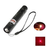 Wholesale car Hot And New Aerometal Powerful Red Laser Pointer Pen Light Focus Lazer Visible Beam nm mw Super Range m