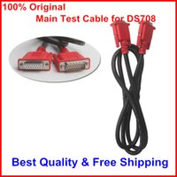 Wholesale 100 Original Main Test Cable for Autel MaxiDAS DS708 with Years Warranty