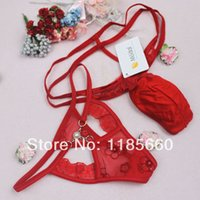 Cheap Wholesale-New arrival fashion men and women lover's New Sexy Erotic mash butterfly panties Underwear G-string thongs Lingerie B1927