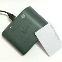 Wholesale Green KHZ USB RFID Proximity Sensor ID Smart Card Reader Only Read T5557 EM4305 EM4100 ID Card