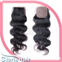 Cheap silk base closures Best brazilian hair closure