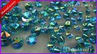 al por mayor cristales de acrílico azul-Envios mayor-Libre más valorados Cristales Ronda Baby Blue acrílico 8mm Flatback Rhinestones Accesorios Strass Strass cosen en los granos flojos
