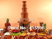 Wholesale 110CM tier Commercial Chocolate Fountain Use For Rent