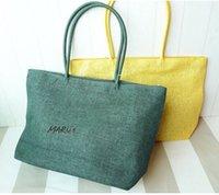 cheap beach bag - Factory direct multicolor optional beach bags handbags cheap wealthy whole paper cloth
