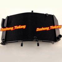Wholesale Aluminum Motorcycle Cooling Radiator For HONDA CBR600RR F5 Motor Cooler Parts Accessories Black Color order lt no trac