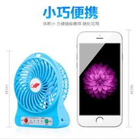 Wholesale Portable Small Cooling Fans Adjustable Speed Mini USB Cooling Fan Rechargeable For Laptop Notebook Computer PC Indoor Outdoor