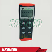 az single - Taiwan Heng Xin AZ Handheld RS232 thermometer K J T R S E Thermometer Single precision electronic thermometer