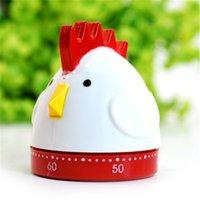 Wholesale Ktichen Timer CM Food grade ABS healthy Flat cartoon chicken style Countdown timer g Vertical timer Q