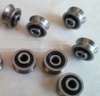 Wholesale 5 mm U type groove double row ball bearing roller guide Computer embroidery machine V17