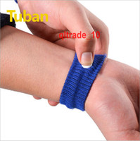 Wholesale 1000 BBA5287 Candy Colors Sports cuffs Safety Wrist Support Wristbands Anti Nausea Car Seasick Anti Motion Sickness Motion Sick Wrist Bands