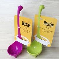 Wholesale Nessie Ladle Cute Dinosaur Spoon Soup Ladle Cartoon Design Colorful Retail Package New By Meow