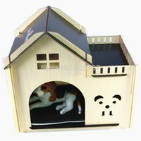 Wholesale Indoor Wood Dog House Brand New Pretty Terrace Kennel Small Pet Products For Dogs