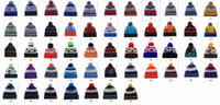 Wholesale Lady Cap Golf - New Fashion Men Women Ladies Unisex Winter Knit Winter Hat Beanie Reversible Brand Chunky Baggy Warm Cap