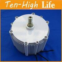 Wholesale Freeshipping Upgraded version W real RPM wind alternator wind generator motor permanent magnet alternator