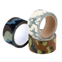army shooting game - M Wild Survival Hunting Camouflage Tapes Stretchable Army War Game Gun Camera Wraps Jungle Desert Shooting Wrap Bike Stickers