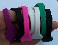 Precio de Venda de la energía del silicón del balance-2014 nuevo El envío libre 33 colorea el silicón de 5 tamaños con la pulsera de las pulseras del holograma empareda el wristband 500PCS de la energía del balance con las cajas