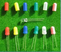 Wholesale Caps Covers for mm Grain of Wheat Bulbs LEDs Mixed Color NEW