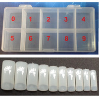 Wholesale Box Demi Tips Naturel Color Half Cover Fake False French Nail Art Artificial DIY Acrylic Gel UV Manicure Set