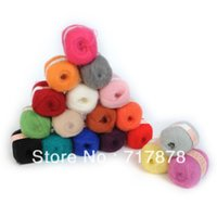 Wholesale New Knitting Yarn Natural Angola Mohair Cashmere Wool Skein High Quality g