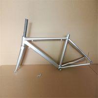 Wholesale DIY Original Bike Frames Titanium Colored Aluminum Road Bike Frame Cheap Price Mountain Bike Frames and Forks on Sale A20