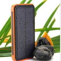 solar car battery charger - 200000mAh high quality solar power bank mobile phone external battery protable charge powerbank for iphone Samsung
