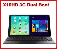 windows tablet - Original Dual Boot Teclast X10HD G Android Windows inch Intel Z3736F Phone call Tablet PC x1600 GB GB MP Dual camera