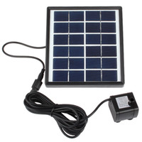 Wholesale Strong Stability Mini Solar Powered Fountain Solar Decorative Water Pump for Garden Plants Pond Pool Rockery Watering Kit