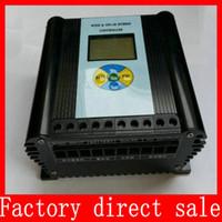 solar power generator - LCD wind solar power hybrid Controller w Watts V V regulator w wind generator w solar panel MPPT charger