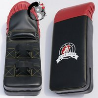 Wholesale XiangPai Pro Thicken arc shaped camber PU taekwondo kickboxing boxing mitt sandbag Punch Pad kick target Focus Muaythai