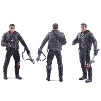 arnold schwarzenegger toy - Arnold Schwarzenegger Doll NECA Judgement Day The Terminator Action Figure T T800 Steel Mill Model PVC Toy cm
