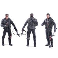 arnold schwarzenegger terminator - Arnold Schwarzenegger Doll NECA Judgement Day The Terminator Action Figure T T800 Steel Mill Model PVC Toy cm
