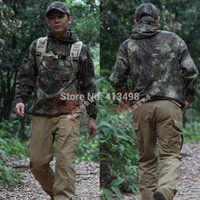 bicycle outerwear - Python Men s Tactical Combat Airsoft Paintball Hunting Bicycle Cycling Camping Hiking Outdoor Hood Garment Coat Outerwear