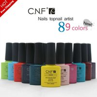 amazing nail polish - Hottest Colors CNF gel polish Colors Amazing soak off led uv gel nail polish professional salon nail gel art varnish uv gel