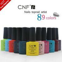 Builder Gel shellac nail polish - Hottest Colors CNF Shellac Colors Amazing soak off led uv gel nail polish professional salon nail gel art varnish uv gel