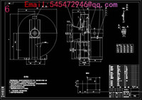 Wholesale HTF fire temperature exhaust fan Drawings Full Machining drawings CAD