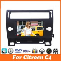 citroen c4 gps dvd - Car dvd player gps for Citroen C4 picasso C Triomphe C Quatre Bluetooth stereo RDS radio canbus central multimidia