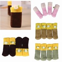 chair foot - Brand New Korean Style Table Feet Cover Home Chair Leg Cover Floor Protector SET Colors Choose ZYR