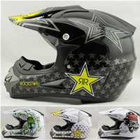 Wholesale rockstar cascos capacete motorcycle helmet ATV Dirt bike downhill cross off road motocross helmets DOT S XL SIZE