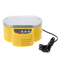 Wholesale Mini Ultrasonic Cleaner for Circuit Board Jewelry Glasses Watch CD Lens Supersonic Cleaner W W V LED Display order lt no track