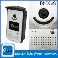 Wholesale 2015 ATZ Ebell Metal Plate Waterproof Vandalproof Classic Design Smart Video Doorphone WiFi Doorbell Camera For Home Use PnP Plug Play Easy