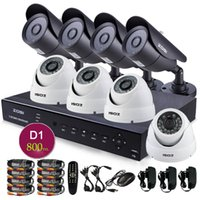 Wholesale ZOSI TVL CCTV system CH H DVR x HD H Infrared or led outdoor security camera surveillance system TB HDD