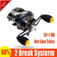 carp fishing reels - SK1200 baitcasting reel ball bearings carp fishing gear Left Right Hand bait casting fishing reel