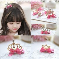 american tire - The new children s crown hair clips The princess birthday tire tire a variety of high end girl style tire