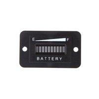 analog status - Led Battery Indicator Digital Battery Status Charge Indicator Monitor Meter Gauge Car Diagnostic Tools Battery Tester