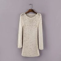 big hea - Big foreign trade cut standard export orders more than single end of a single genuine original single women Spain elastic sleeve sweater hea