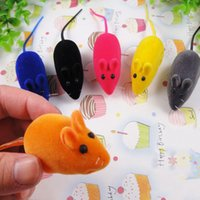 Wholesale Funny Cute Pet Cat Chew Toy False Mouse Rat Kitten Dog Puppy Playing Squeaky